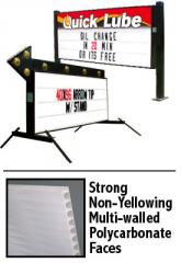 High quality portable signs