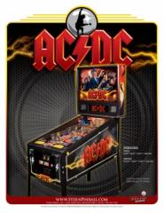 AC/DC Pinball Stern 2012 Machine