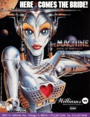 Bride of Pinbot Game Machine