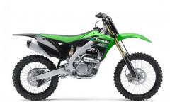 Motorcycle Motocross Kawasaki KX 250F