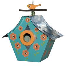 Retro Chic Birdhouse-Four Seasons