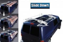 Masterack Single Slide-Down Ladder Rack