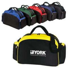 Two-tone Overnight Duffel Bag