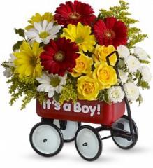 Baby's Wow Wagon by Teleflora - Boy