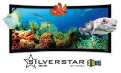 Domestic cinema screen Silverstar 3D-P