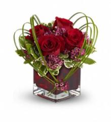 Teleflora's Sweet Thoughts Bouquet with Red