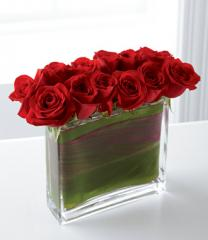 The FTD® Eloquent™ Red Rose Bouquet