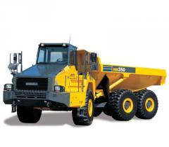 Articulated Dump Truck, Komatsu HM350-2