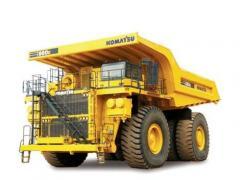 Electric Dump Trucks, Komatsu 860E-1K