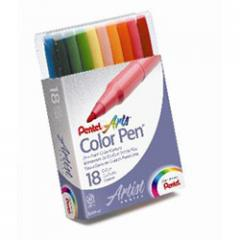 Pentel Color (18) Fine Point Marker Set