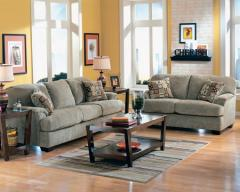 Cityscape Taupe Living Room