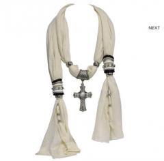 Scarf Fashion Necklace