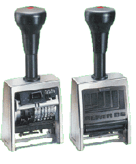 Self-Inking Stampers Automatic Numbering at its