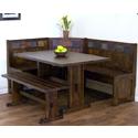 02230DC Sante Fe Breakfast Nook Set w/Side Bench