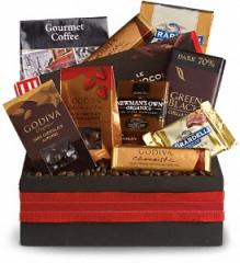 Luxurious Indulgence Chocolate Basket