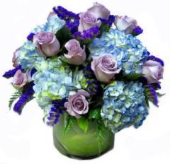 Purples, Lilacs and Indigo