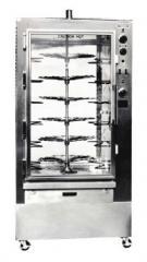 Hi-volume Barbecue Machine, Lazy Susan Model BQ-6