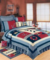 Atlantic Isle Quilt by C&F