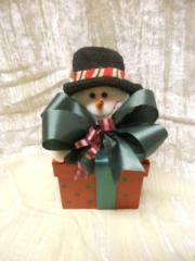 Square Snowman Box