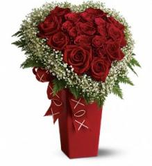 Heart and Soul - Deluxe with Red Roses