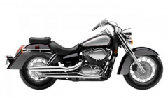Motorcycle Honda Shadow Aero 2012
