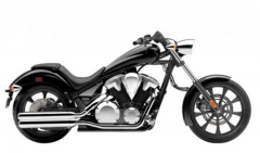 Motorcycle Honda Fury ABS 2012