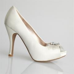 Curve Bridal Shoes