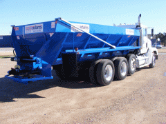 Hydraulic Truck Mounted Litter Spreader