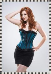 Corset NS-206 Naughty Tarquoise