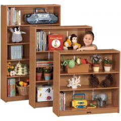 "Bookcase, 4 Adjustable Shelves, 60"" High"