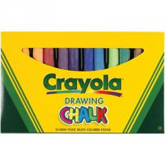 Crayola® Drawing Chalk, Assorted Colors,