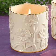 Candle-holder, Daisy Votive by Lenox