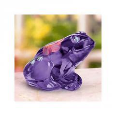 Sculpture, The Little Purple Frog by Lenox