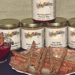 Mixon's own Honey Mustard Pretzel Dips