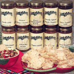 Mixon's own Relish, Chutney and Specialty Jellies