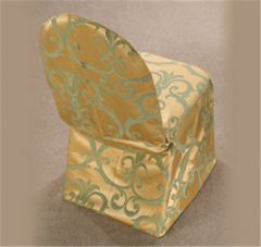 Chair Covers Chopin Gold