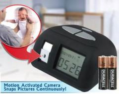 Hidden ClockCam with Motion Detection