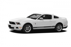 Vehicle Ford Mustang 2012