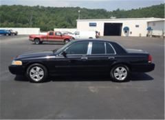 Vehicle Ford Crown Victoria Touring 2011