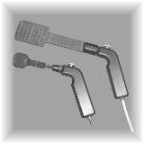 Pistol grip vacuum wands