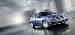 Vehicle Ford Fusion 2012