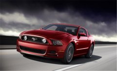 Vehicle Ford Mustang 2013