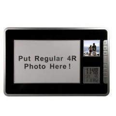 Digital Photo Frame W/ Date & Time Display