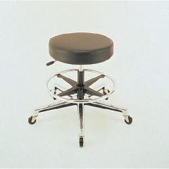 Round Laboratory Stools With Air Lift