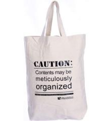 Reusable Canvas Tote Bag - Organize-It Logo