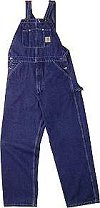 Carhart Washed Denim Overall R07