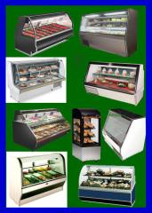 Produce Cases, all sizes, Hussmann, Tyler and