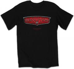 Black Courageous Resolution - Christian T-Shirt