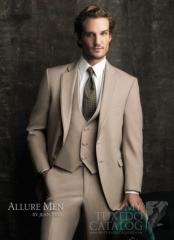 Tan 'Allure' Tuxedo