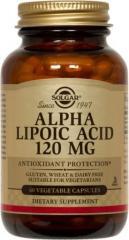 Alpha Lipoic Acid 120 mg Vegetable Capsules